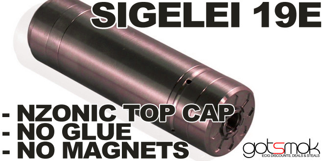Sigelei 19e Nzonic (NO GLUE OR MAGNETS!) $31.34