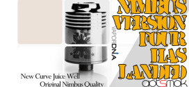 Nimbus v4 + Custom Drilled Holes + Free E-liquid $54.00
