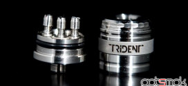 Trident v2 Rebuildable Atomizer By Grand Vapor $80
