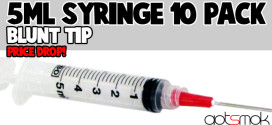 5mL Blunt Tip Syringe (10 Pack) $5.14