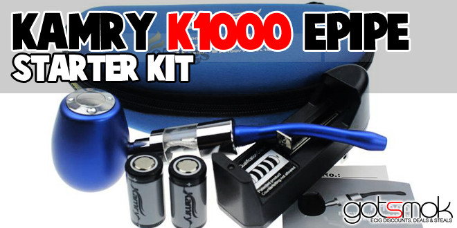 Kamry K1000 Epipe Mechanical Mod Starter Kit $34.09