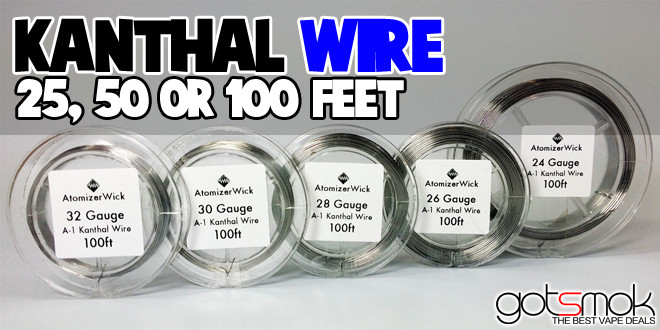 Atomizer wire gauge wire center kanthal wire multiple gauges lengths vape deals rh vape deals vape wire gauge calculator vape wire keyboard keysfo Images
