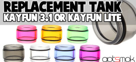 Replacement Tank For Kayfun 3.1 / Lite $1.18