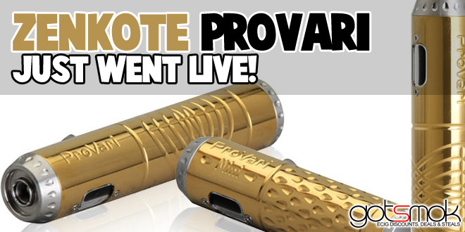 Gold Zenkote Provari (Just Went Live) $229.95