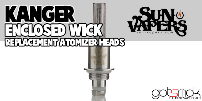 kanger enclosed wick heads  9 99