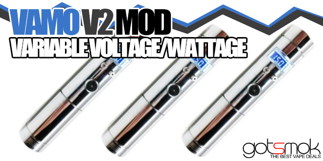 Vamo V2 Variable Voltage/Wattage $26.98