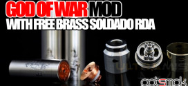 God Of War Mod w/ Soldado RDA $155.00