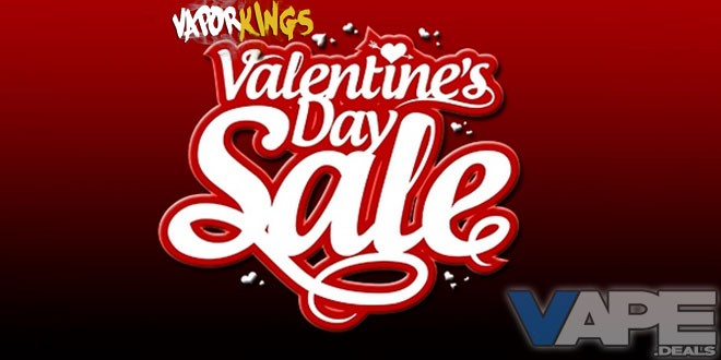 Vaporkings Valentine Day Sale