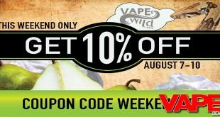 vape-wild-coupon-code-weekend10
