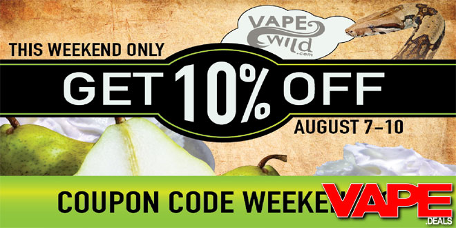 Coupon code for vape wild