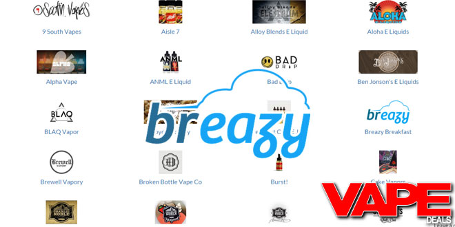 breazy e-liquid