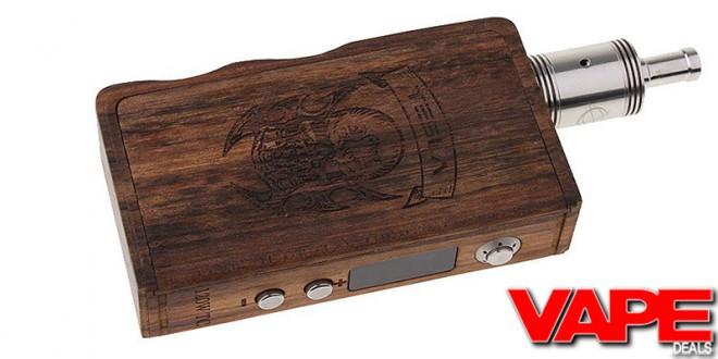 Tesla Wood 120w TC Box Mod $29.72 | VAPE DEALS