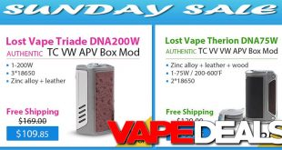 lost vape triade