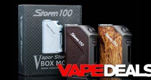 vapor storm 100