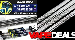 lightning vapes alien wire rods
