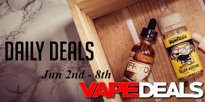 HuffAndPuffers Daily Deals June 2nd – 8th