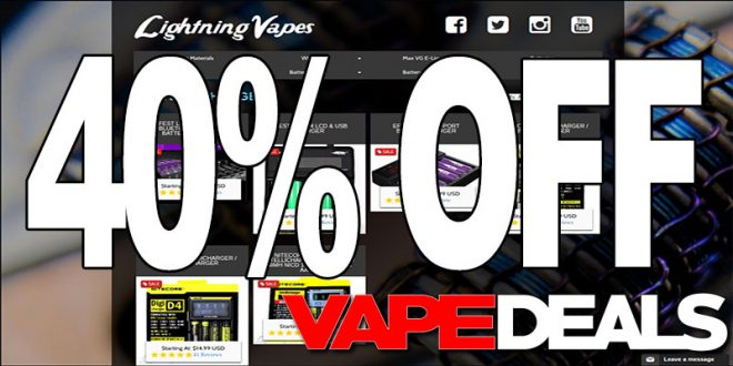 Lightning vapes coupon - Proderma light coupon code