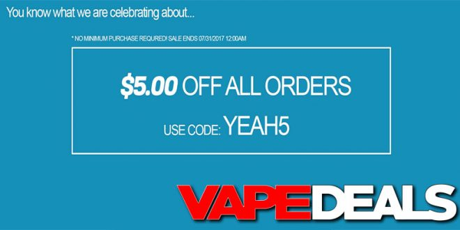 Vapordna coupon code reddit