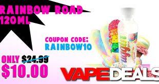 rainbow road e-liquid