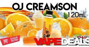 oj creamson e-liquid