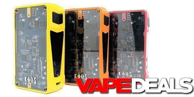 8b1ad355977983 Sigelei Kaos Z 200w Bundle w/ RDTA & Batteries $36.00 | VAPE DEALS
