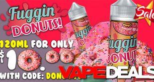 fuggin donuts e-liquid