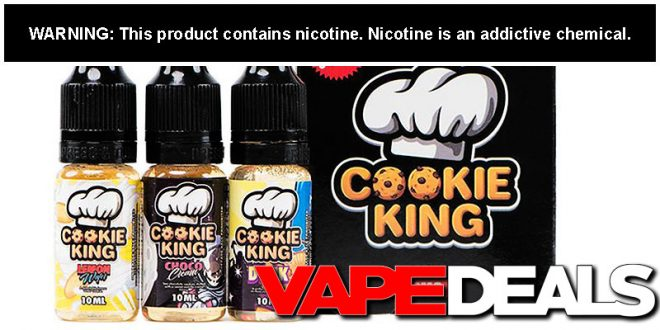 cookie king e-liquid