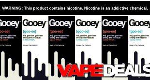 gooey e-juice