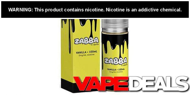 zabba e-liquid