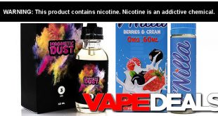 magnetic dust e-liquid
