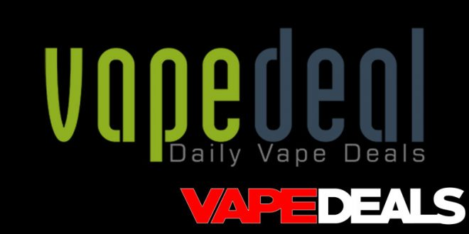 VapeDeal Early Black Friday 2018 Sitewide Sale