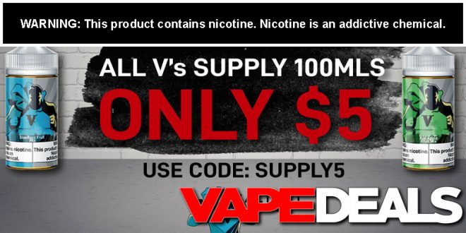 v's supply e-liquid