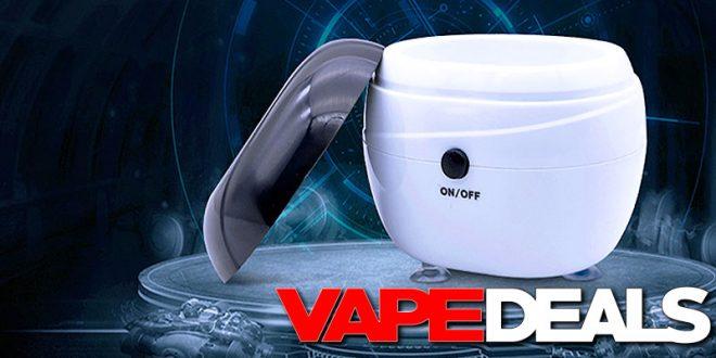 vivismoke ultrasonic cleaner
