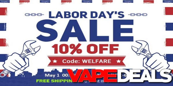 Fasttech Labor Day 2019 Sale 10 Off Sitewide Vape Deals