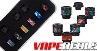 AVCT Drip Tip 12-in-1 Kit (Resin 510 / 810) $5.99