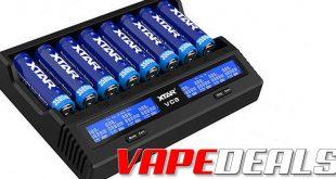 XTAR VC8 8-Bay Battery Charger $25.24