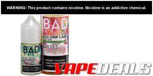 Bad Drip Labs E-liquid 60mL (or 30mL Salts) Sale $6.40