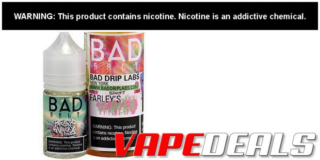 Bad Drip Labs Director's Cut E-liquid Sale $5.40