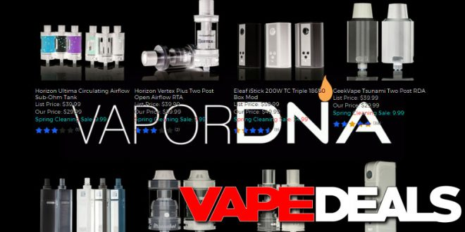 VaporDNA Sale – Extra 40% Off All Clearance Items!