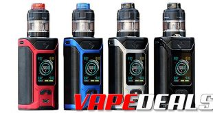 Sinuous Ravage 230 Starter Kit by Wismec (USA) $20.00