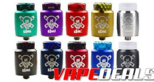 Blitz Ghoul 22mm Single Coil RDA BLOWOUT $4.49