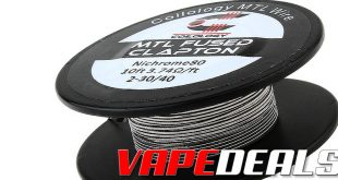 Coilology MTL Fused Clapton Spool (Free Shipping) $2.97