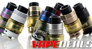 Hive RTA 25mm by Cloud Chasers Inc. (USA) $45.00