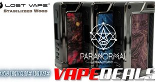 Lost Vape Paranormal Mod (US / Free Shipping) $139.99