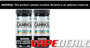 Holy Cannoli E-liquid 200mL Bundle (2x 100mL) $13.60