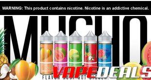Mucho E-liquid 100mL or 30mL Nic Salt (FS $100+) $7.65