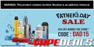 EcigMafia Father's Day Sale (15% Off)