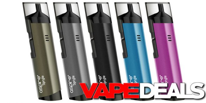 100% Authentic Aspire Breeze All In One Vape Kit With