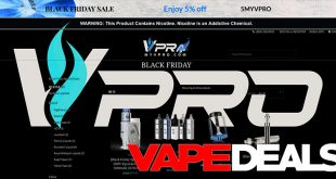 MyVPro Memorial Day 2020 E-liquid Sale