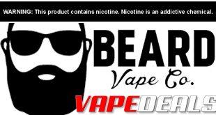 Beard Vape Co 60mLs & 30mL Salts $5.40